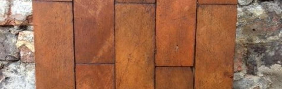 Reclaimed parquet flooring 75567 31